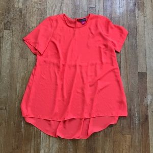 Vince Camuto Coral Short Sleeve Blouse